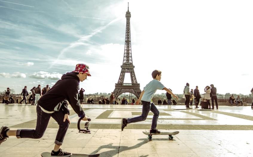 Фото діти в Парижі