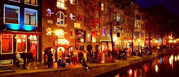 Вечірній Амстердам